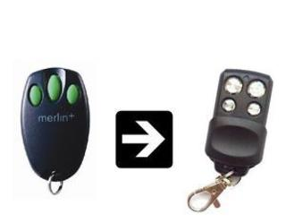 Merlin c945 compatable remote