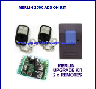 Merlin 230t upgrade receiver kit incl 2 x remotes