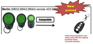 Merlin M832/ M430R compatible remote