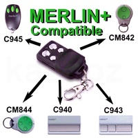 Merlin-three-channel-remote C945 433mhz