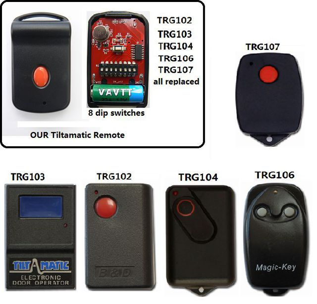 Replacement Ahi Trv 300 Remote Controls Now Available