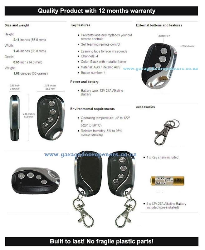 Garage Door Opener Remote Nz 28 Images