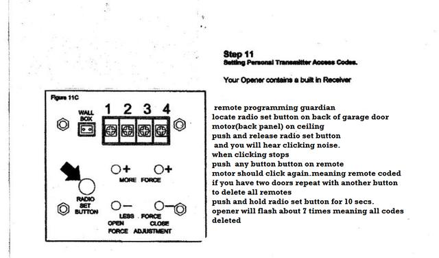 merlin m802 coding instructions